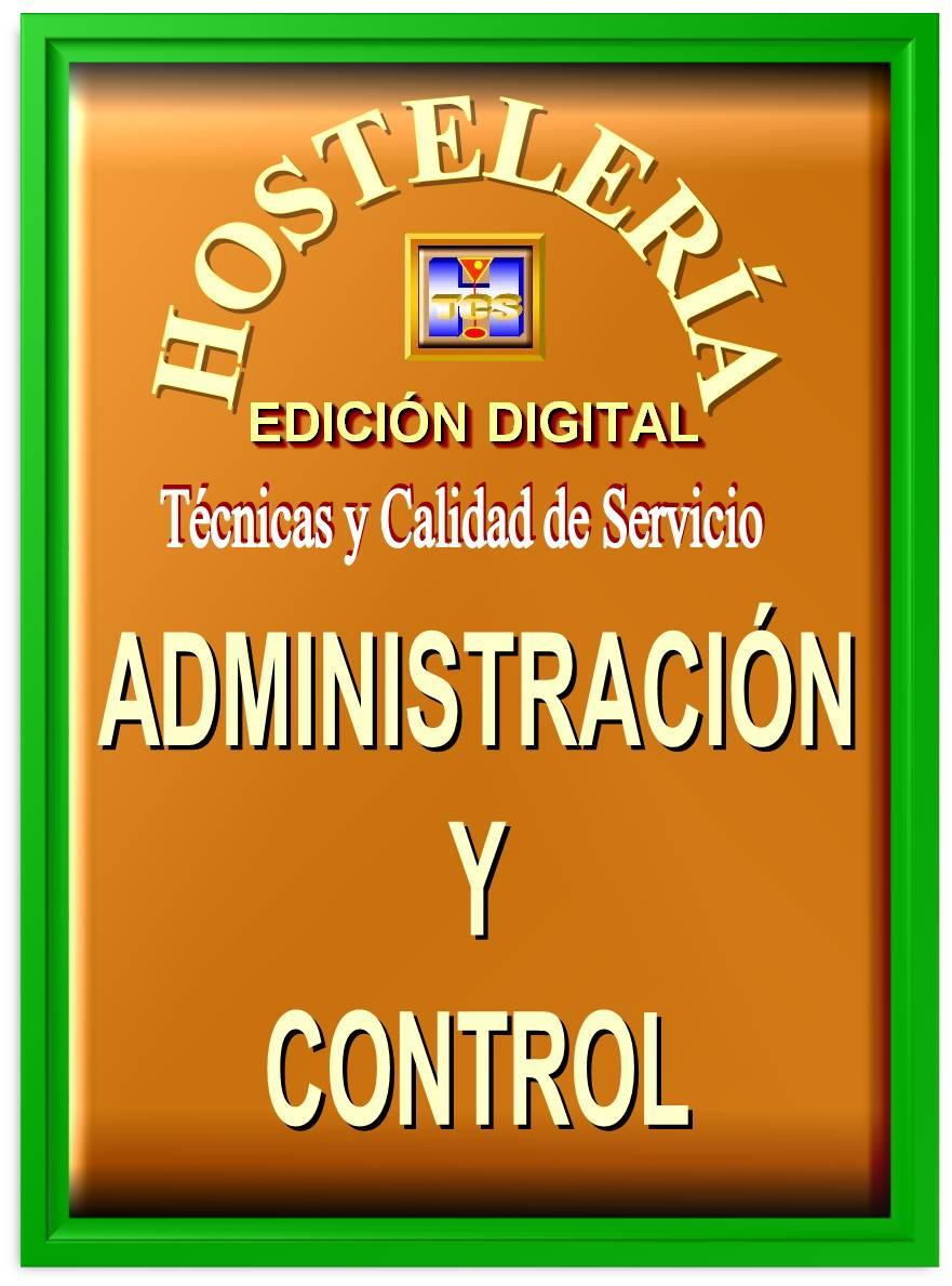 Administraci n y control for Manual tecnicas culinarias